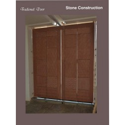 Stone Construction Traditional Door