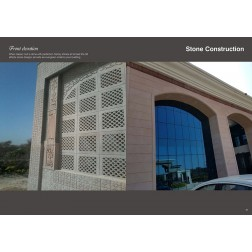 Stone Construction Front Elevation1